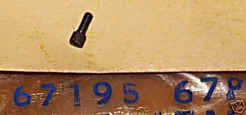 HARLEY AERMACCHI 67195-67P RESET CABLE SCREW SPRINT NOS