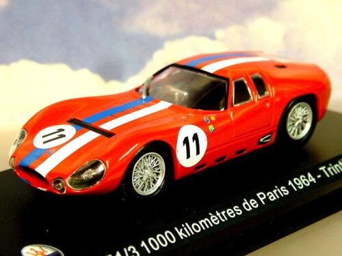 1//43 Moulage sous Pression Maserati Tipo 151//3 #11 1000KM de Paris 1964 M.