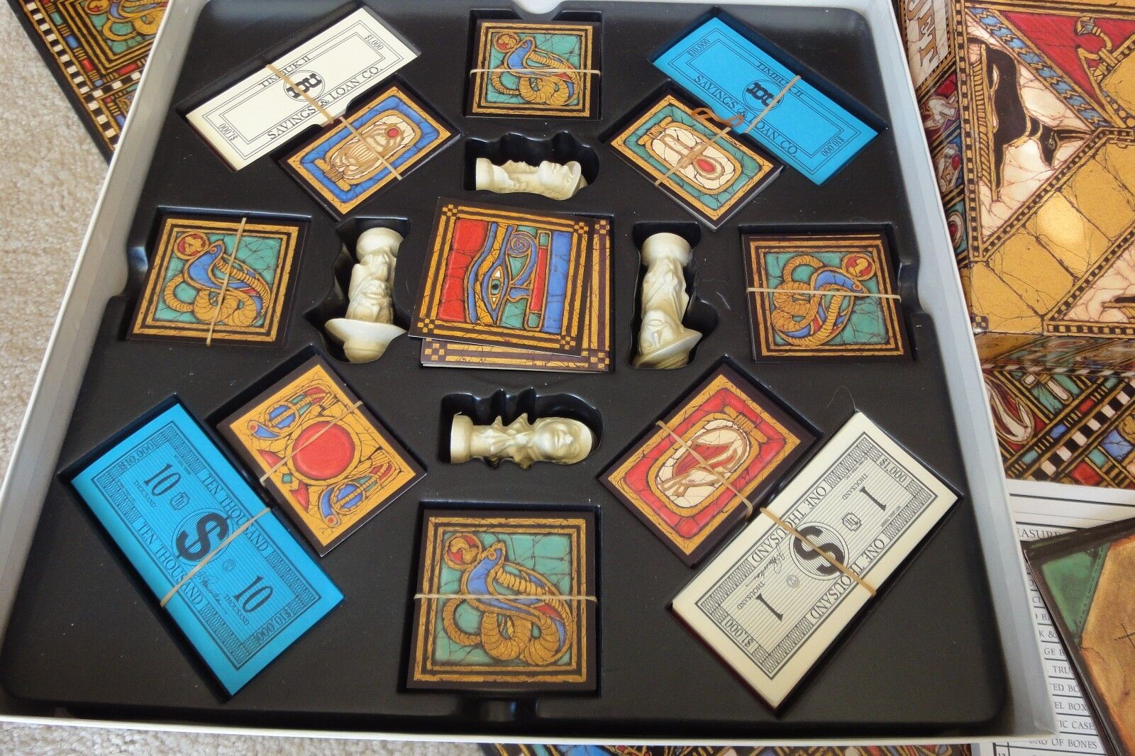 Wadjet Archaeological Adventure Adventure Adventure board game by Timbuk II. Complete  Nice  fb83b8