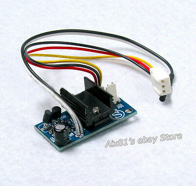 DC 12V PC CPU IC Smart Fan Temperature Control Speed Controller with Sensor