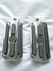 Harley-Davidson-Chrome-amp-Rubber-Fussrasten-Fussrasten-gross-50130-95A