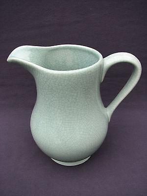 2 QT. BIA Cordon Bleu Ancien Green Crackle Celadon Dishwasher Micro Safe Pitcher