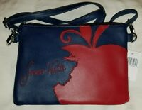 Disney Exclusive Snow White Apple Crossbody Purse Bag Free Shipping