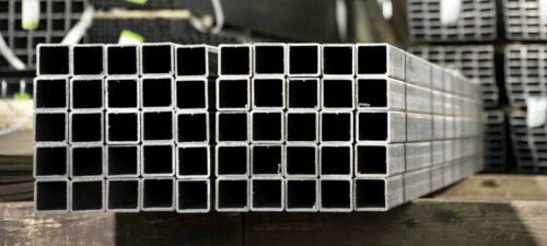 Polished Brush Square Tube Metal Bar Box Section 40x40mm Stainless Steel Dull