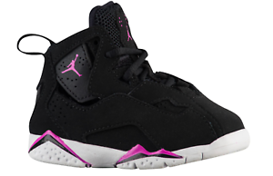 Jordan True Flight GT NoirFuchsia 645071 001 Toddler shoes