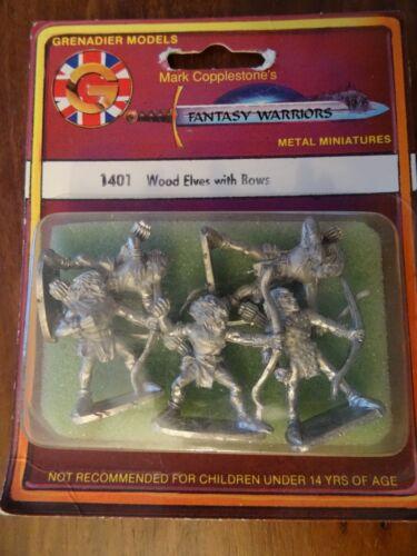 "1402 1410,1423 Grenadier Miniatures 1425/"" Grenadier Fantasy Warriors /""1401"