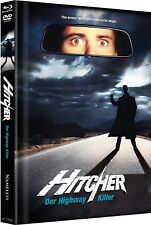 The Hitcher - Original - Limited Uncut Mediabook Cover B Blu-ray Neu/OVP