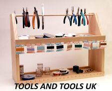 Beaders funstation socle bois outils d'organisation de station de travail Perles Bijoux Making
