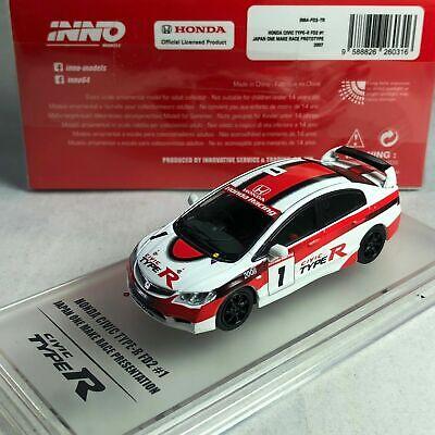 Inno64 Honda Civic Type-R FD2 Japan One Make Race 1:64 New in Stock