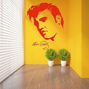 ELVIS-PRESLEY-Wall-Art-Sticker-decal-vinyl-mural