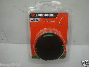 BLACK /& DECKER A6482 TRIMMER SPOOL AND LINE