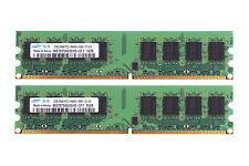 Samsung 4GB 2X 2GB DDR2 800MHz PC2-6400U DIMM RAM memory For Dell OptiPlex 360