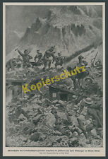 Ledeli Kaiserschützen 3.Rgt Gefecht Monte Miela Tirol Asiago Dolomitenfront 1917
