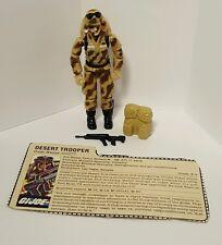 Vintage GI Joe Action Figure - Dusty w/ Weapons Accessories & Card