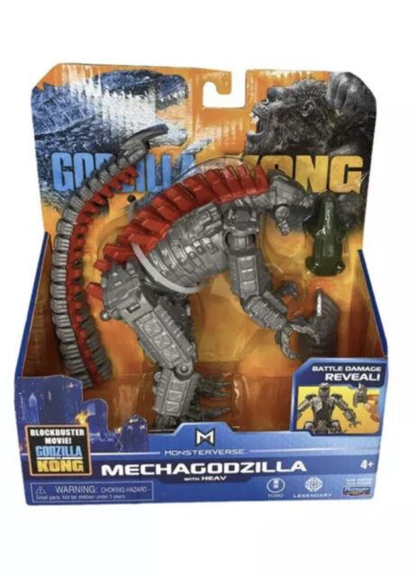 """Playmates Monsterverse Godzilla vs Kong 6"""" Mechagodzilla Figure ✅ SHIPS TODAY ✅"""