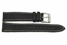 18MM HIGH QUALITY STITCHED GENUINE LEATHER WATCH BAND STRAP FITS SWISS ARMY