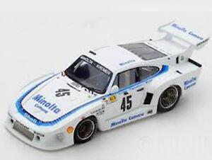 Modèle Spark 1:43 S5092 Porsche 935 K3 # 45 Le Mans 1979 Plankenhorn / gurdjian Nouveau