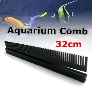 32cm Length Black Acrylic Aquarium Weir Comb Marine Sump Fish Tank Uk D1 Ebay