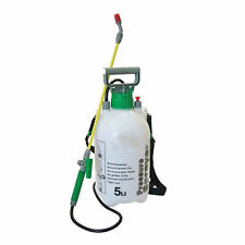 New 5L Pressure Sprayer Knapsack Garden Chemical Weedkiller Water Spray Bottle