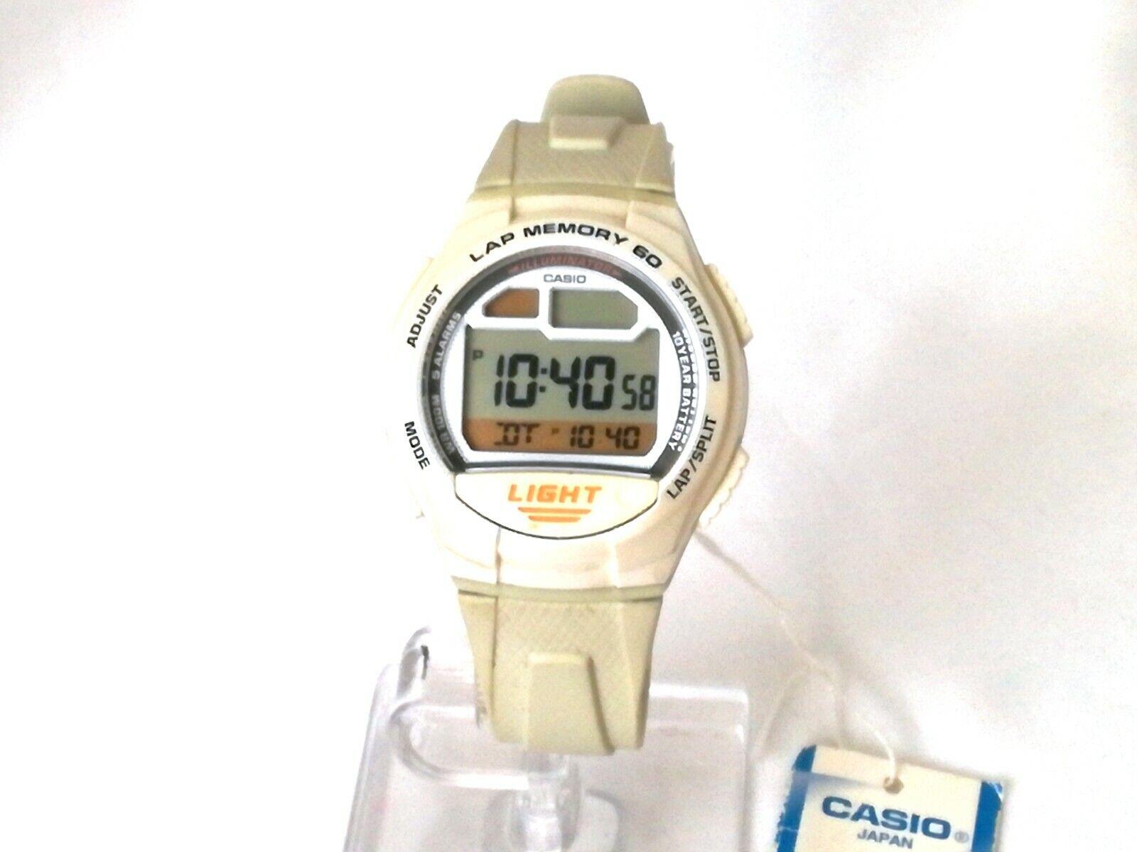 Reloj pulsera hombre CASIO LAP MEMORY 60 QUARTZ 3283 W-734 Original vintage