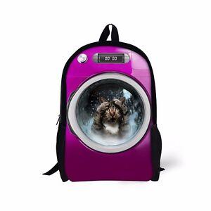 Image Is Loading Uni Junior High School Backpack Rucksack Travel Satchel