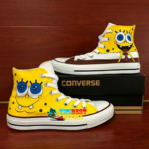 SpongeBob Canvas Shoes Hand Painted Shoes Free Shipping To Worldwide We ship the shoes with FedEx DHL or EMS usually take - days to arrive Notice All Size Available because/5().