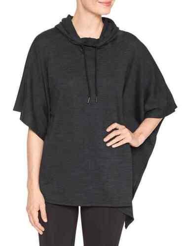 GapFit Gap gFast poncho Hoodie Sweatshirt Outerwear Active Top Msrp $55 NWT