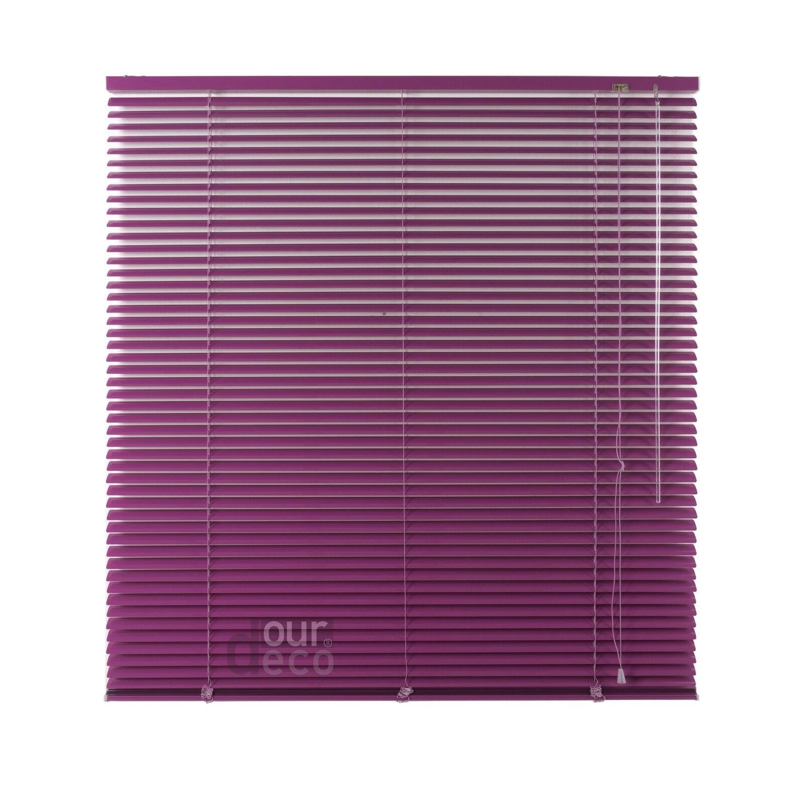 Ourdeco® Aluminium Jalousie Fenster Rollo Jalousette Länge 160 cm cm cm flieder f1afed