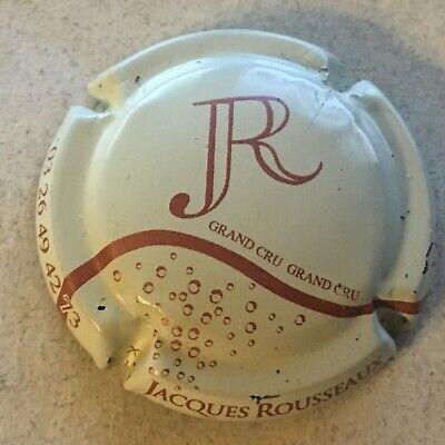 1e. Crème et rosé Capsule de Champagne ROUSSEAUX Jacques