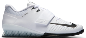 info for 97326 08b7f Image is loading Nike-Romaleos-3-Weightlifting-Shoes-SZ-15-White-