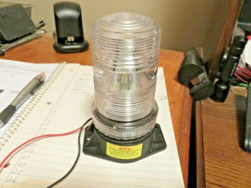 Fixture Only Electric Fence Light