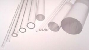 Plastic-Tube-amp-Rod-Acrylic-Extruded-Clear-Perspex-Bar-amp-Hollow-Tubular-Pipe