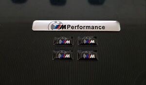 X5 Logo M PERFORMANCE BMW Sticker 3D Insigne Autocollant  jantes volant