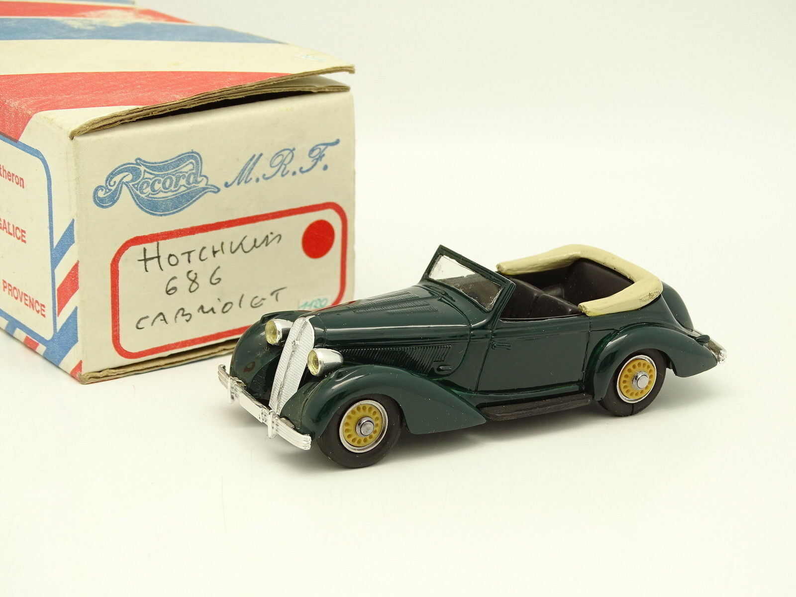 Record Kit Montado 1 43 - Hotchkiss 686 Cabriolet green