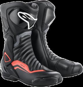 SMX-6 V2 Boots Alpinestars Black Gray Red 47