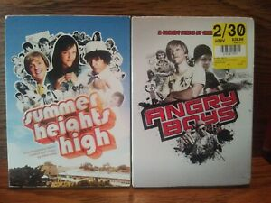 Summer-Heights-High-Angry-Boys-DVD-Chris-Lilley-Lot-Angry-Boys-is-New-Sealed