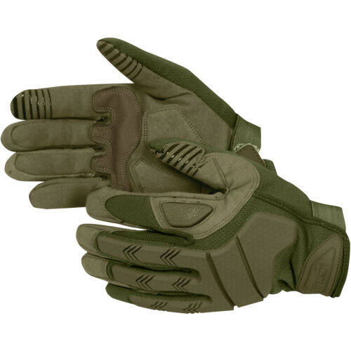 Viper Recon Gloves Tactical Hunting Knuckle Gauntlet Trekking Mens Mittens Green