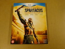 3-DISC BLU-RAY / SPARTACUS - GODS OF THE ARENA / LES DIEUX DE L'ARENE