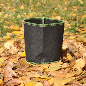 5PCS-x-2-Gallon-Fabric-Grow-Pots-Grow-Bags-Smart-Dirt-Plant-without-Handles
