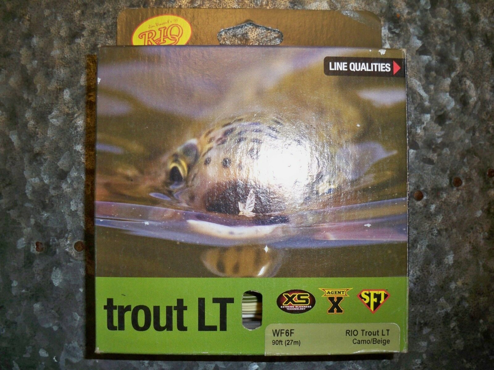 Rio  Trout LT WF6F Camo Beige 90 feet 27 meters NEW  most preferential