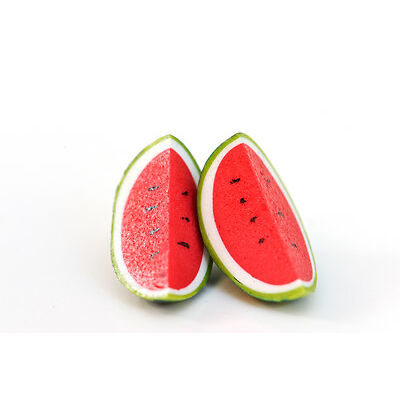 Watermelon Earrings - Watermelon studs - rockabilly - kawaii - Pinup