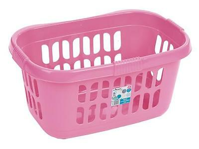 Pink Hipster Rectangular Laundry Basket