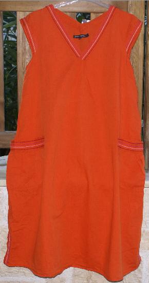 Gudrun Sjöden Kleid ohne Arm Leinenmix Orange Gr. 40-42     M Neu | Zuverlässiger Ruf  | Kostengünstig  | Verschiedene aktuelle Designs  52dd60