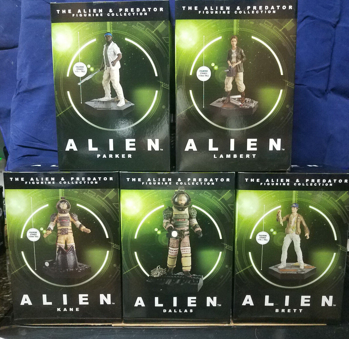The Alien & Predator Figurine Collection par Hero Collector. Votre
