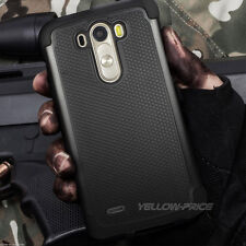 For LG G3 Hybrid Rugged Impact Protective Hard Armor Case Skin Cover BLACK
