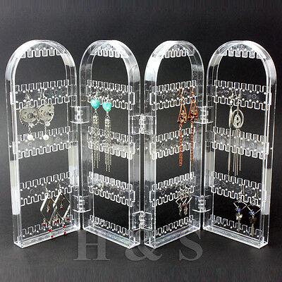 Screen Stud Earring Jewellery Display Stand Unit Holder Storage Organiser Box -B