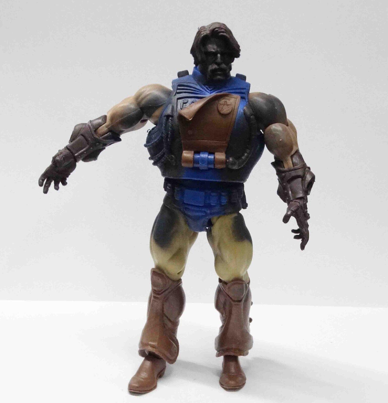 Y2 He-Man Masters Of The Universe Rio Blast Action figure Predotype w color
