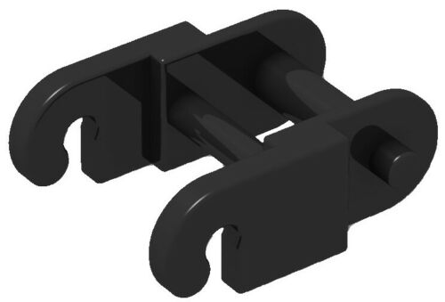 ☀️LEGO New Black Technic Link Chain Link 100x  Pieces tank track tread