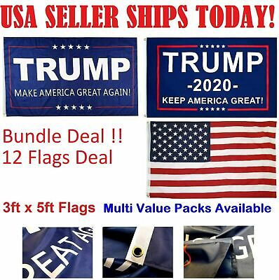 Trump 2020 Keep America Great President MAGA Make America Great Flag 3x5 Ft Bs