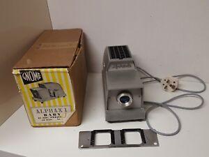Gnome-Projector-Alphaxi-Baby-35mm-Slide-150-watt-No725A-Vintage